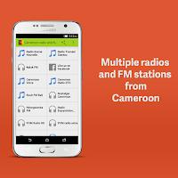 Screenshot of Cameroon Radio