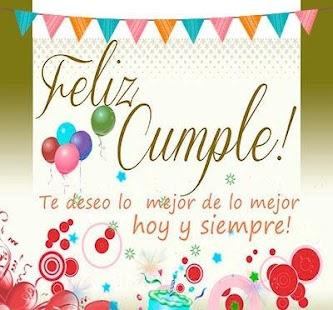 Saludos de cumpleaños y fotos - náhled