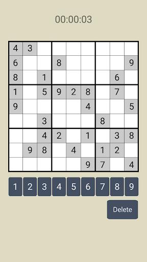 Sudoku - The hardest sudoku puzzles screenshots 1