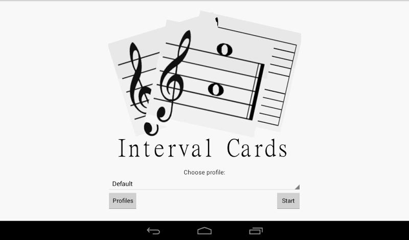 Скриншот Interval Cards Theory - Free