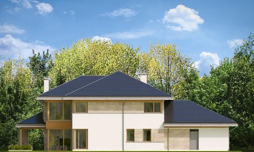 Dom z widokiem 4 - Elewacja tylna