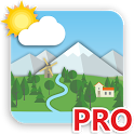Animated Landscape Weather Live Wallpaper icon