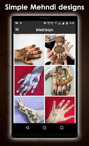 Simple mehndi design new 1.3 screenshots 5