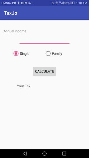 Tax Calculator Jordan