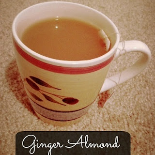 Ginger Almond Milk Tea.