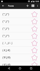 Kaomoji ☆ Japanese Emoticons Premium (Ads Free) 3