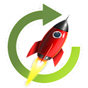 Rocket Cleaner Work Faster icon