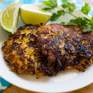 Garlic Lime Chicken Plantain Fritters (Paleo, AIP, Whole30).