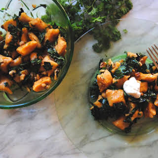Sweet Potato Gnocchi with Brown Butter Sauce.