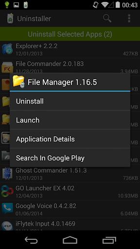 Uninstaller 1.5.8 Screenshots 5
