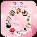 photo lockscreen - circle APK