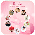 photo lockscreen - circle apk