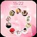 photo lockscreen - circle icon
