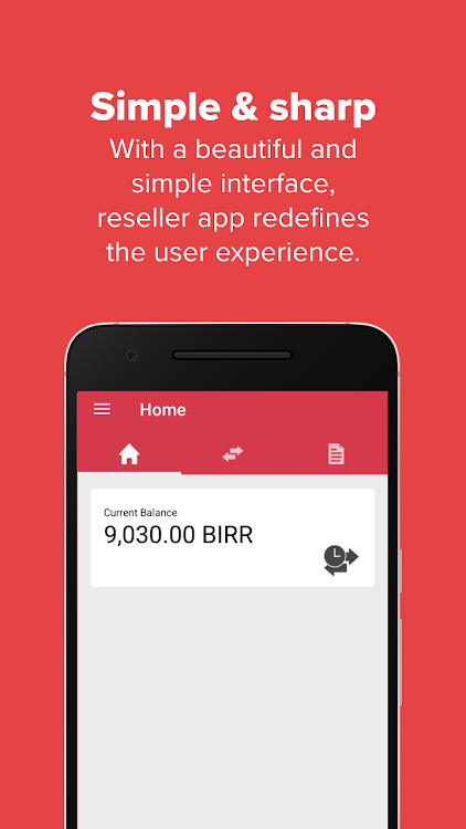Ethio Reseller App – (Android Apps) — AppAgg