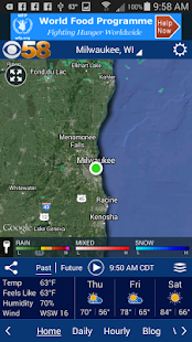 CBS58 Weather- screenshot thumbnail