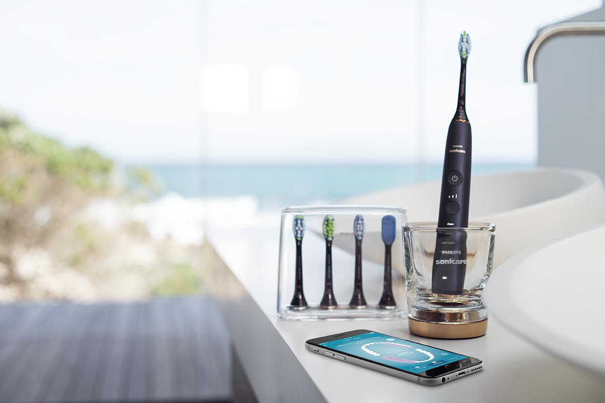 Philips launches flagship Sonicare DiamondClean Smart connected toothbrush  - News center | Philips