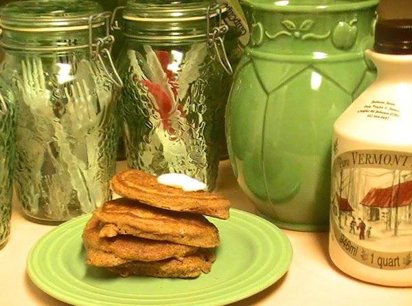 Pumpkin Nut Pancakes Recipe