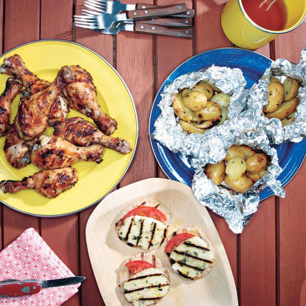 Grilled Lemon-Oregano Chicken Drumsticks Recipe | Yummly