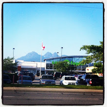 Photo: Mountains behind Save on Food store in Maple Ridge #intercer #city #town #mountain #sky #cloud #clouds #canada #britishcolumbia #store #food #street #cars #sun #walk #nature #instanature #flag #view - via Instagram, http://instagr.am/p/NfxjYoJfre/