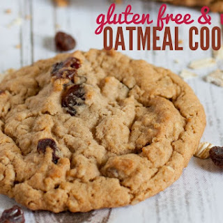 The BEST Gluten Free & Vegan Oatmeal Cookie Recipe