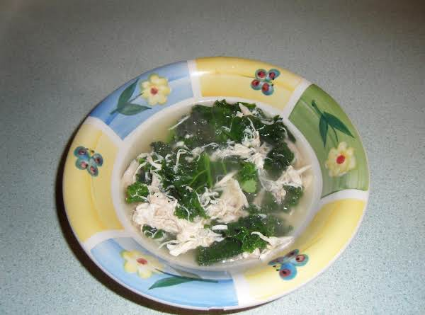 Chicken Soup With Kale Recipe