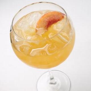 Peach Wine Cooler.