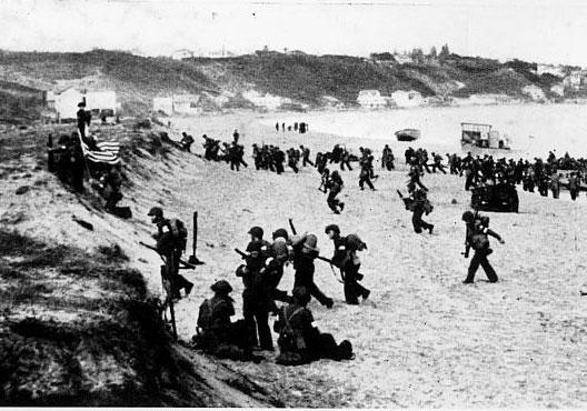 8 novembre 1942 - Débarquement en Afrique du Nord - Herodote.net