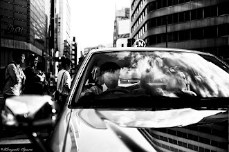 Photo: 雲の中のタクシー Taxi in the clouds.  Tokyo Street Shooting  Location; #Shinjuku , #Tokyo , #Japan   #photo #photography #streetphotography #streettogs  #leica #leicammonochrom +Leica Camera