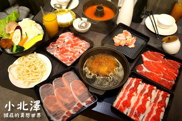 台中壽喜燒吃到飽-小北澤壽喜燒專門店(家樂福青海店)!肉品、菜盤、飲料無限供應!