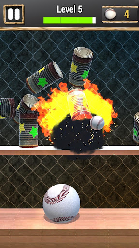 Knock Down Cans : hit cans apkpoly screenshots 6