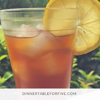 Sweet Tea & Spiked Sweet Tea Recipe