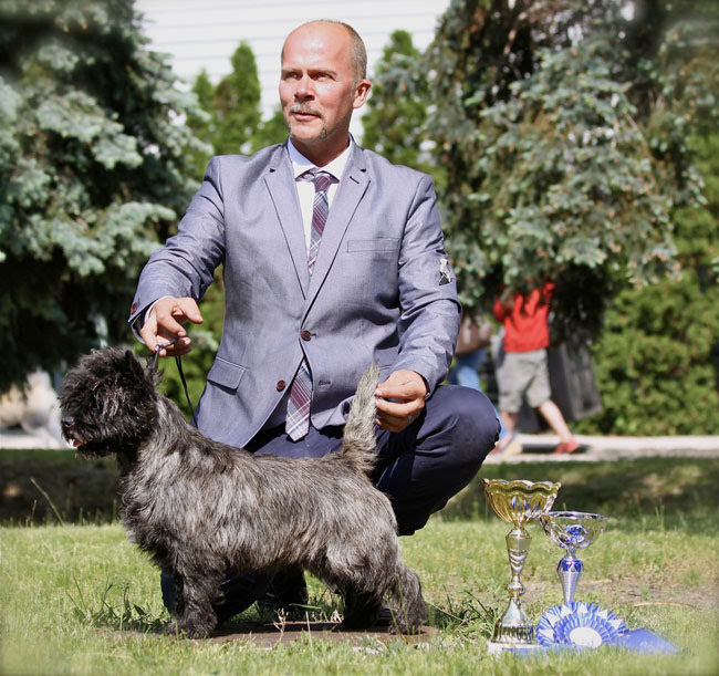 Заводчик, владелец питомника керн терьеров «Rottriver's» (Швеция) Krister Olander Lindblom