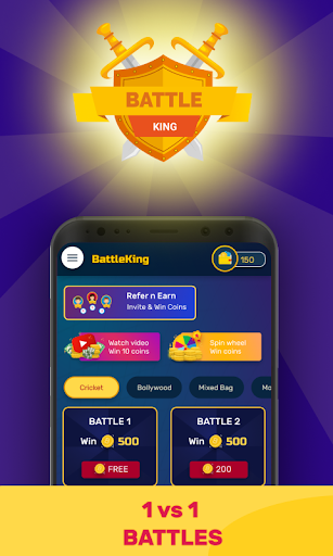 BattleKing - Play Battles | Win Free Paytm Money 1.0 1