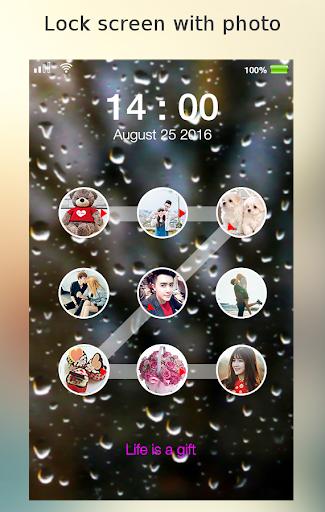 lock screen photo pattern screenshot 2