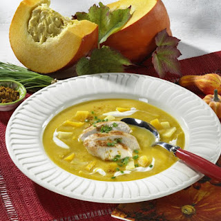 Quick Pumpkin and Chicken Soup.