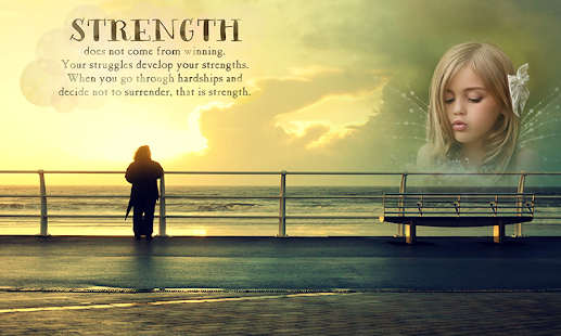 Strength Quotes Photo Frames - náhled