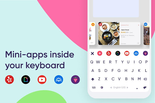 Fleksy: The Private Keyboard 9.9.2 screenshots 5