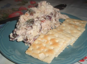 Fruity - Nutty Chicken Salad... Recipe