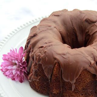 Chocolate Pistachio Marble Bundt Cake