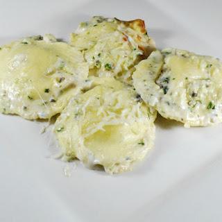 Ravioli Bianca Bake
