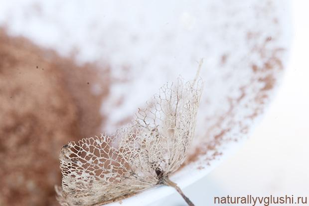 маска из семян льна и какао для лица | Блог Naturally в глуши