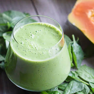 Tropical Green Energy Smoothie.