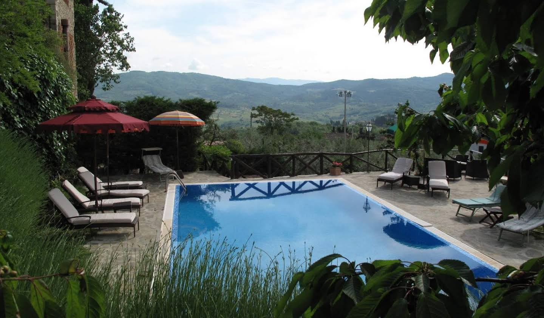 Villa avec piscine et jardin Greve in Chianti