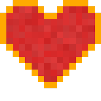 redstone item to heart