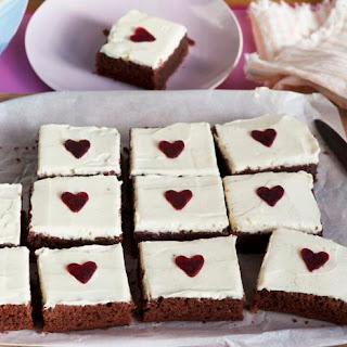 Beetroot And Chocolate Traybake.