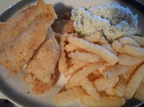 Fried Catfish With Tatoes Recipe