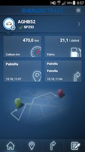Sherlog GPS MX - náhled