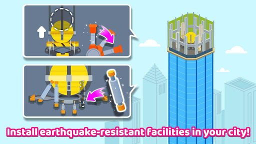 Baby Panda's Earthquake-resistant Building apktram screenshots 14