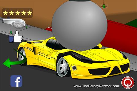 destroy a sport car screenshot thumbnail