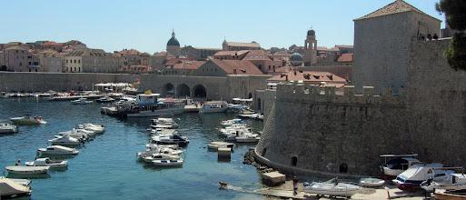 Photo: De jachthaven van Dubrovnik